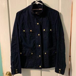 JCREW navy utility jacket